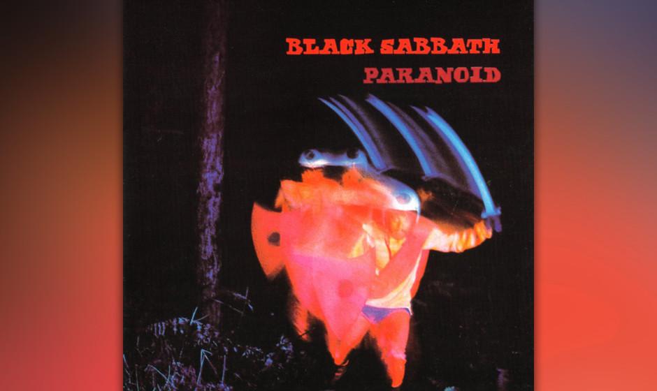 7. Black Sabbath: 'Paranoid' (1970) Die Ambition, das musikalische Äquivalent zu Gruselfilmen zu erschaffen, hatten Black Sa