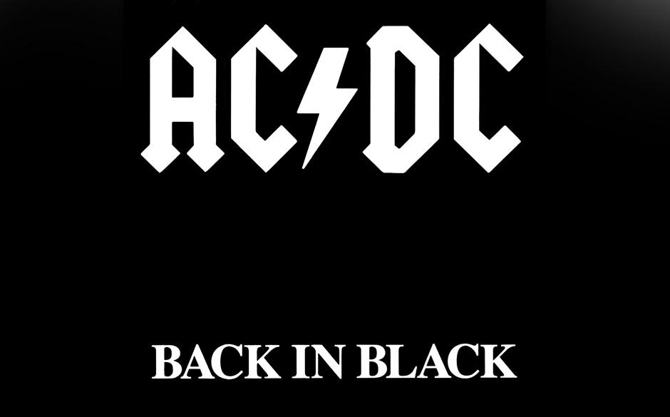 """AC/DC: """"Back In Black"""" stellt unglaublichen Platin-Rekord..."""