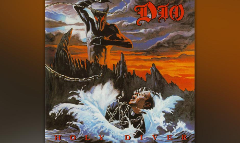 9. Dio: 'Holy Diver' (1983) Ronnie James Dio verließ Rainbow 1979, weil es ihm nicht passte, wie Ritchie Blackmore den Sound