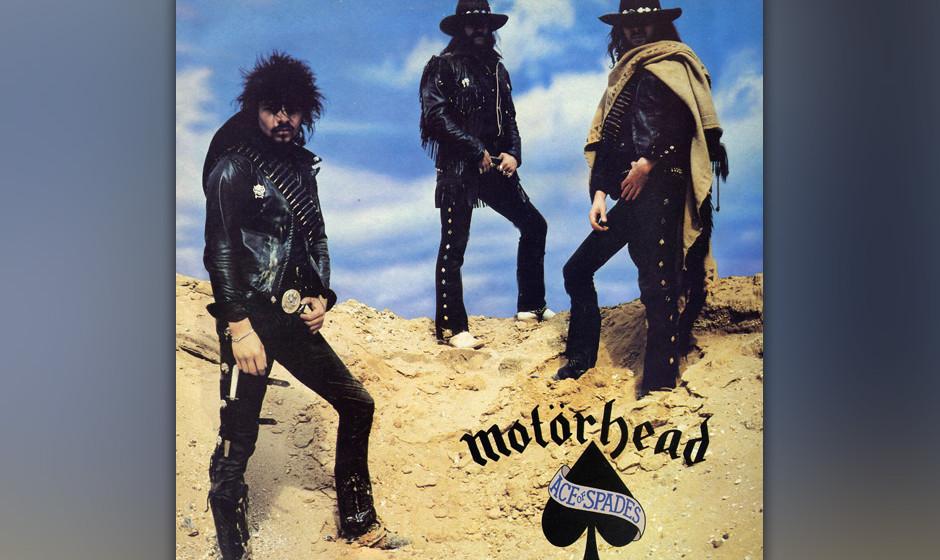 Motörheads 'Ace Of Spades' (1980): Der Titelsong wurde zur ultimativen Halunkenhymne aller Rocker und Zocker.