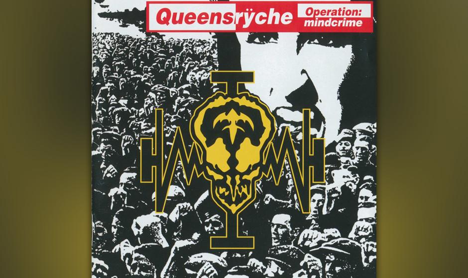 13. Queensrÿche: 'Operation Mindcrime' (1988) Mit diesem ambitionierten Konzeptalbum über einen Aktivisten, der durch eine