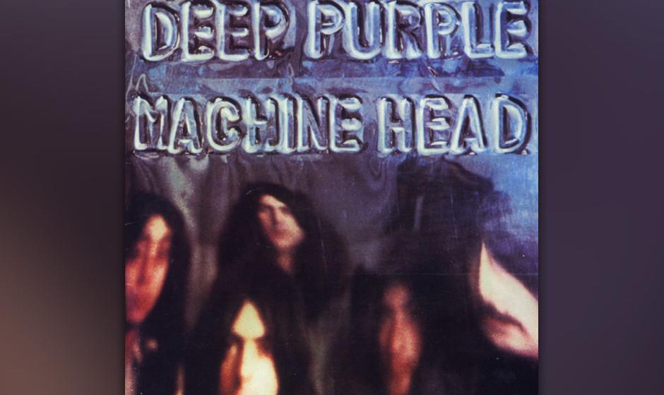 """15. Deep Purple: 'Machine Head' (1972) """"Highway Star"""" eröffnet das Album furios. Als erstes Speed-Metal-Stück wird es g"""