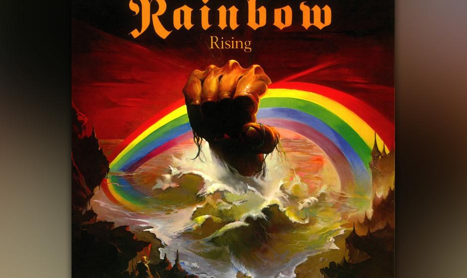"""17. Rainbow: 'Rising' (1976) Das zweite Rainbow-Album ist das beste: """"Rising"""" hat einen magisch dunklen Sound und eine Re"""