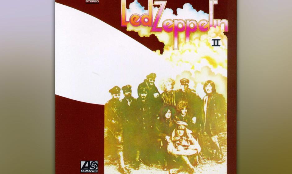 18. Led Zeppelin: 'II' (1969) In weniger als einem Jahr verzierten Led Zeppelin die Essenz ihres Debüts noch stärker mit Ha