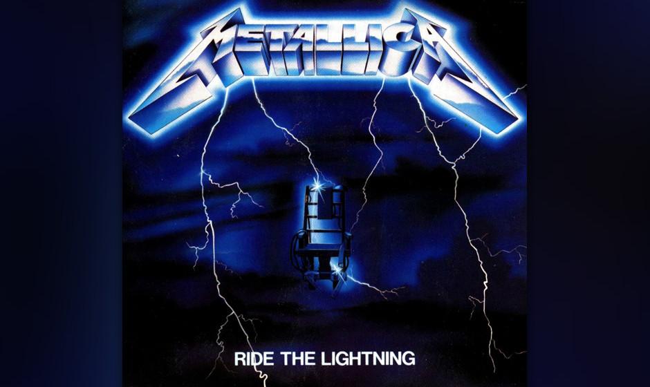 22. Metallica: 'Ride The Lightning' (1984) Der Nachhilfeunterricht in den Tour-Pausen zeigte Wirkung. Songs wie die Doublebas