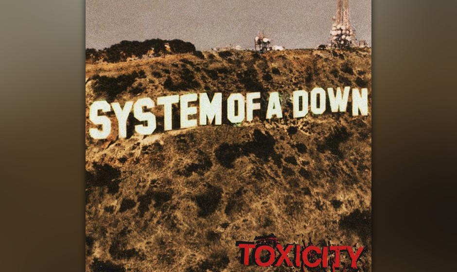 23. System Of A Down: 'Toxicity' (2001) Das von Rick Rubin entdeckte Quartett um Serj Tankian warf so viele Stile in den Mixe
