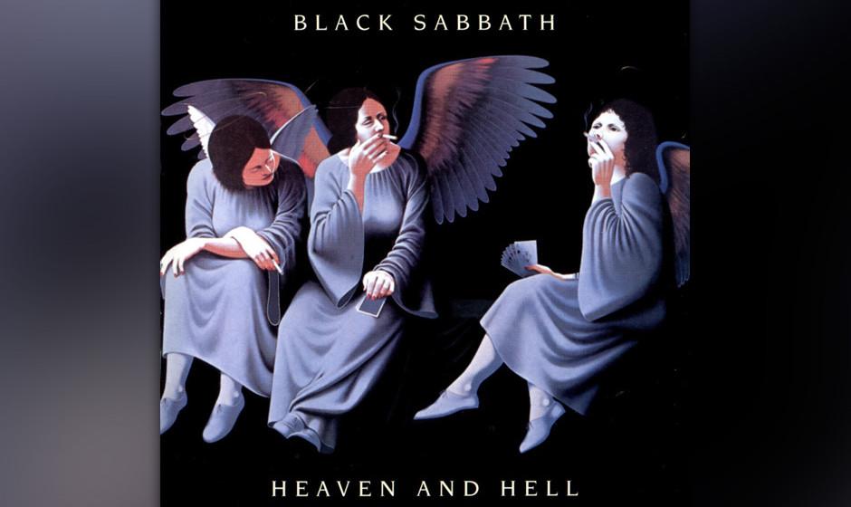 26. Black Sabbath: 'Heaven And Hell' (1980) Nach dem Rausschmiss von Ozzy schien die Band auseinanderzubrechen. Aber mit Ronn