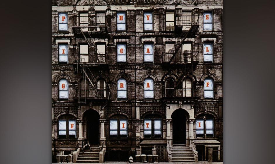 27. Led Zeppelin: 'Physical Graffiti' (1975) Nach einer längeren Pause kehrten Led Zeppelin 1975 mit einem neugierigen, von