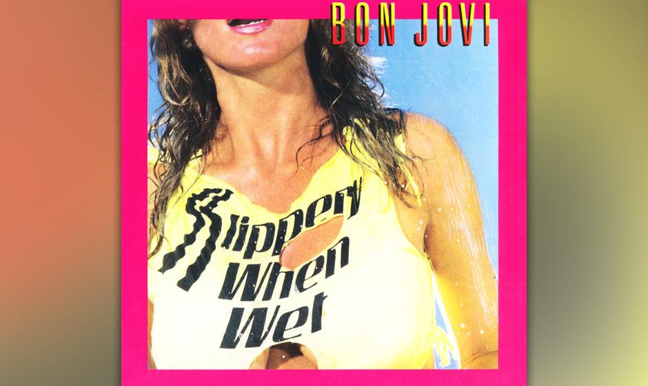 29. Bon Jovi: 'Slippery When Wet' (1986) Auch wenn einige Juroren schon bei Erwähnung des Namens aufstöhnten: Ja, das dritt