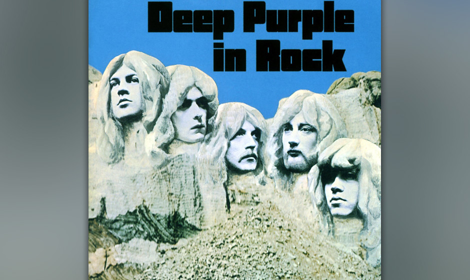 36. Deep Purple: 'In Rock' (1970) Im selben Jahr wie Black Sabbaths Debüt meißelten Deep Purple ihre Rock-Definition in Ste