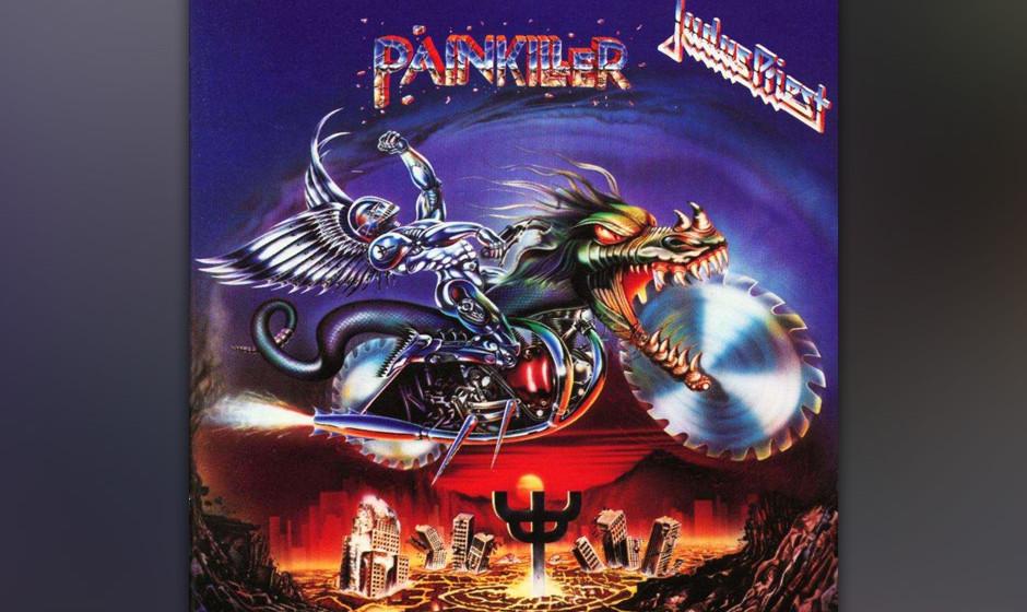 38. Judas Priest: 'Painkiller' (1990) Ein musikalischer Richtungswechsel. Mit dem Doublebass-Dynamo Scott Travis suchte man A