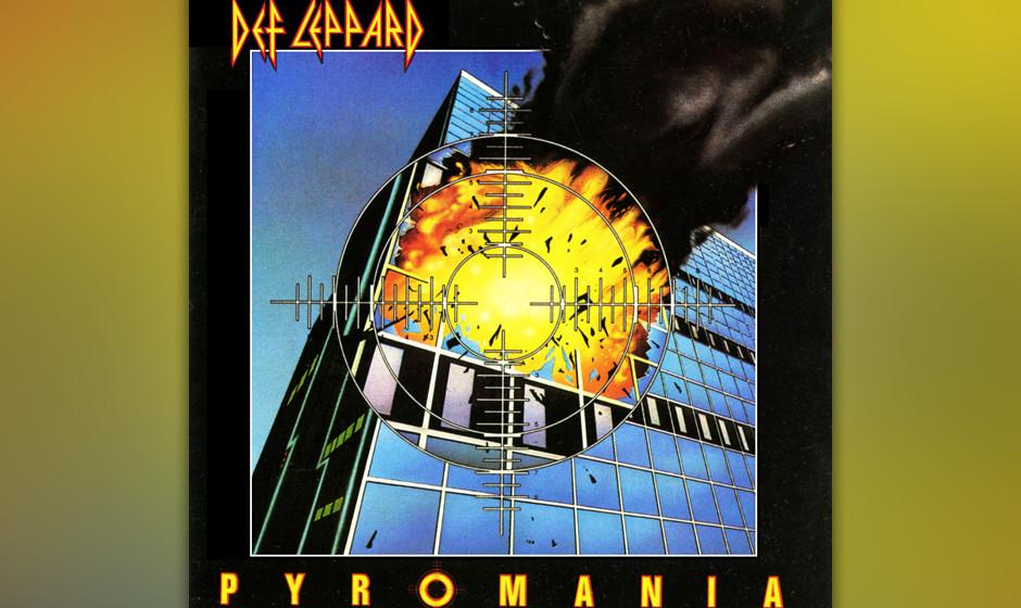 """39. Def Leppard: 'Pyromania' (1983) Von der Stahlstadt Sheffield zu US-Superstars: Soundperfektionist Robert """"Mutt"""" Lange"""
