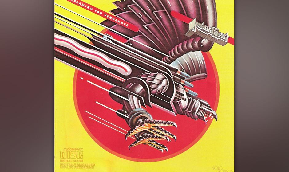 40. Judas Priest: 'Screaming For Vengeance' (1982) Obwohl man hier bereits den US-Markt anvisiert und sich dort durchaus fest