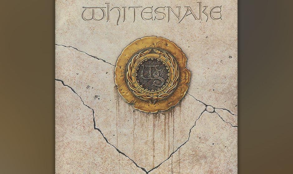 43. Whitesnake: '1987' (1987) Die Blues-Wurzeln nahezu gekappt, den Sound auf Hardrock mit Keyboard getrimmt und die Mähne f