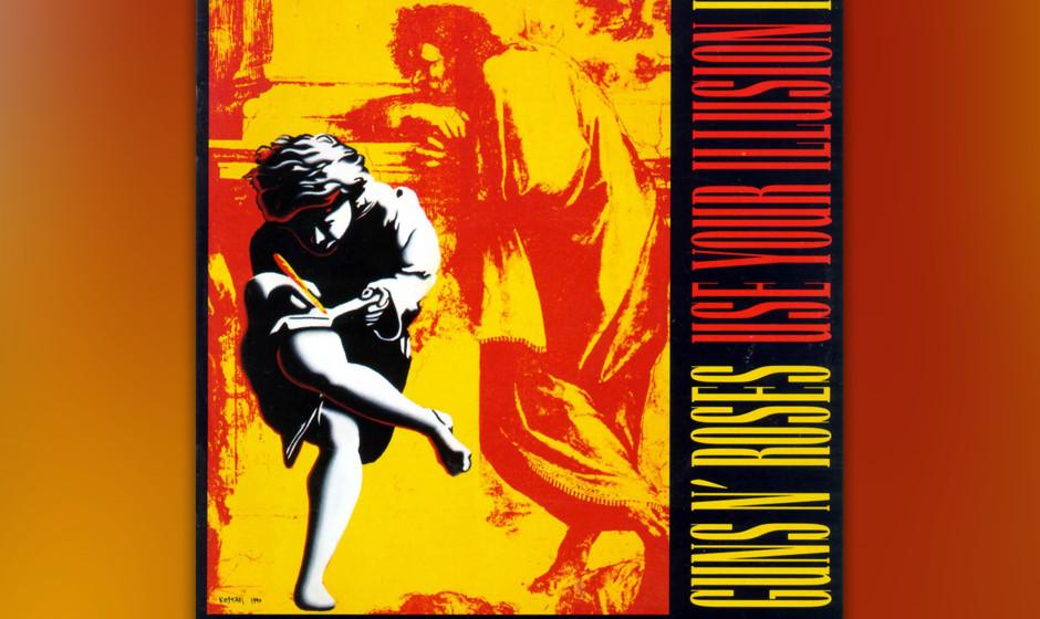 44. Guns N'Roses: 'Use Your Illusion' (1991) Als die beiden Doppelalben vier lange Jahre nach dem Debüt endlich herauskamen,