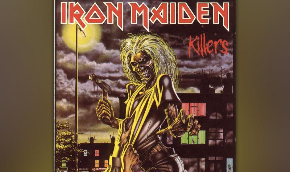 45. Iron Maiden: 'Killers' (1981) Noch fehlen die ausufernden Epen, aber das zweite Album offenbart bereits die überlegene k
