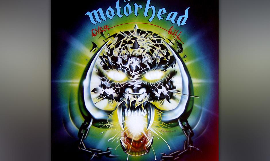 52. Motörhead: 'Overkill' (1979) Mit ihrem zweiten Werk fanden Motörhead zu ihrem Sound und galten fortan als lauteste und