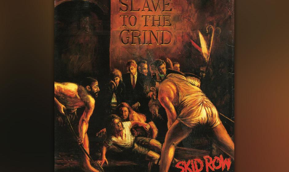55. Skid Row: 'Slave To The Grind' (1991) Es war kein kleiner Schock, als Skid Row zwei Jahre nach ihrem Hit-Debüt mit diese