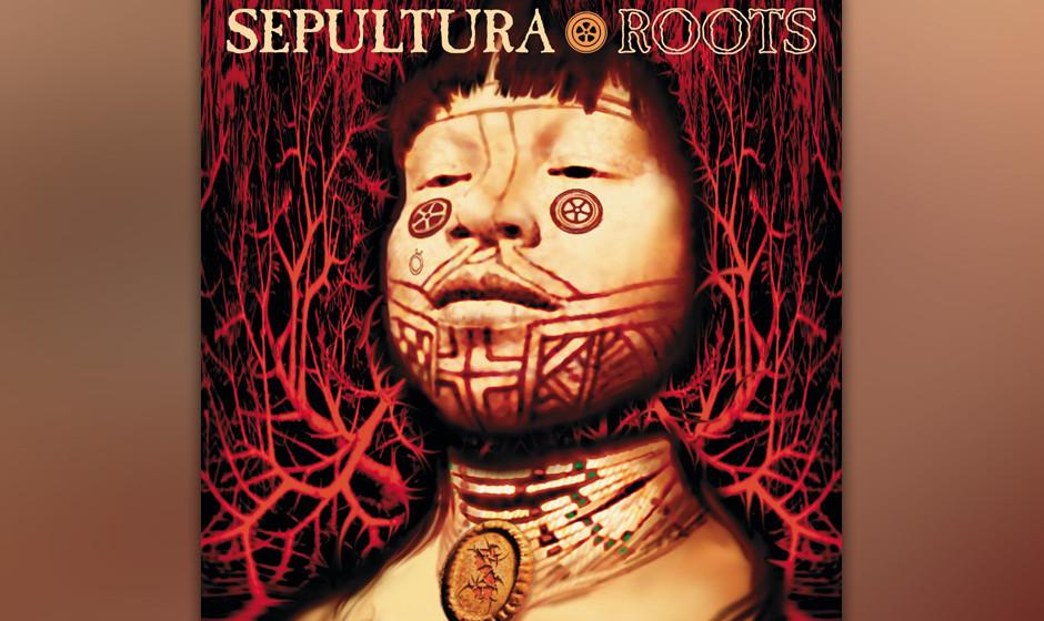 56. Sepultura: 'Roots' (1996) Die brasilianische Band besinnt sich auf ihre Herkunft, arbeitet mit einheimischen Percussionis