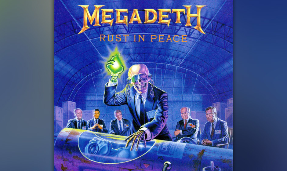 57. Megadeth: 'Rust In Peace' (1990) Fiese Riffs, nihilistische Texte: Die Musik von David Mustaine ist von Bitterkeit und b�
