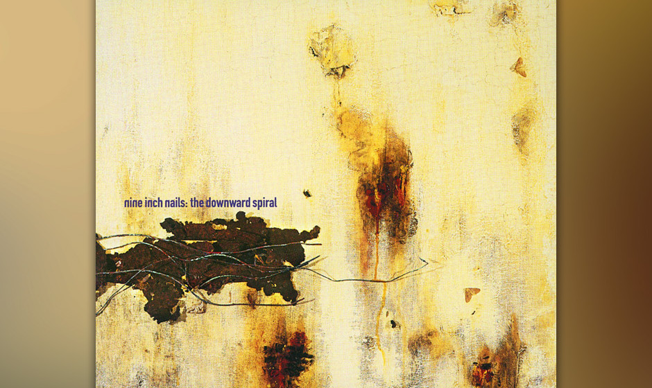 62. Nine Inch Nails: 'The Downward Spiral' (1994) Aus der selbstmörderischen Abwärtsspirale, die Trent Reznor als genrespre