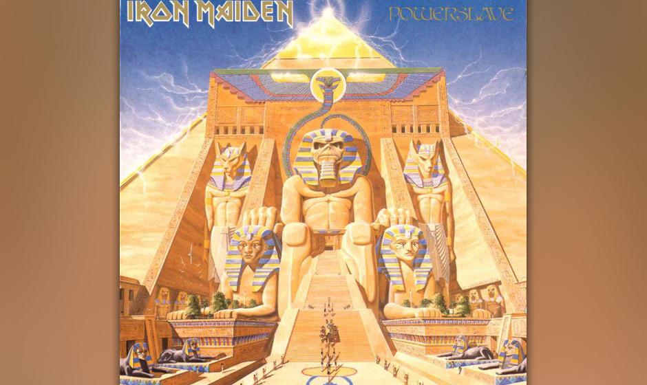 70. Iron Maiden: 'Powerslave' (1984) Das Ägypten-Album. Ein letztes Mal mit Instrumentalnummer, die allerdings etwas erratis