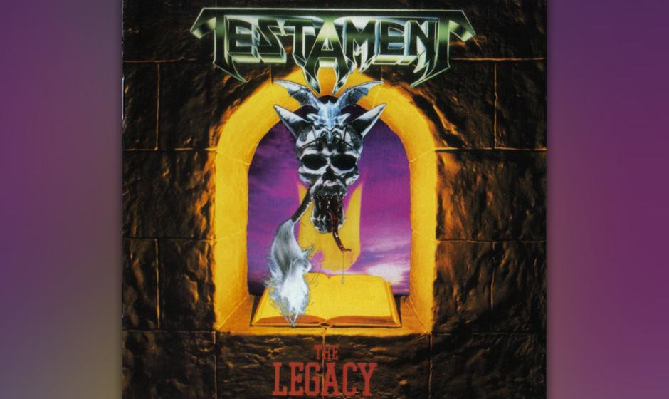 81. Testament: 'The Legacy' (1987) Schon eine Weile vor ihrem Debüt hatten Testament unter dem Namen Legacy im Metal-Untergr
