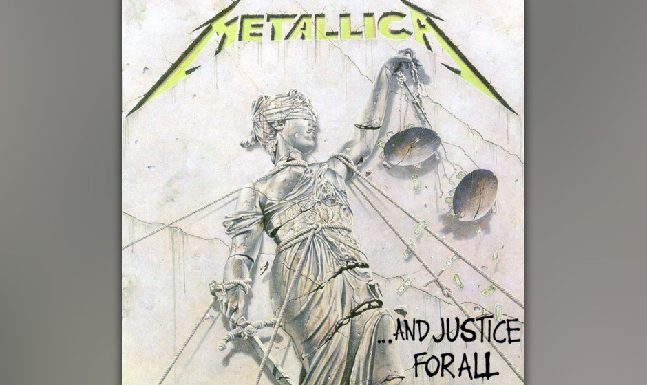 85. Metallica: '... And Justice For All' (1988) Man hat damals gestritten über diese Platte, deren beklemmender, klir- rende