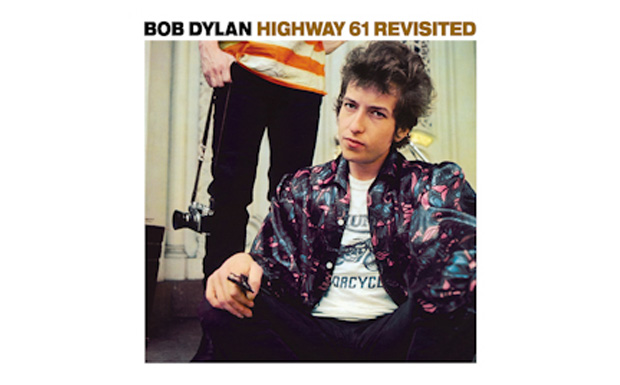 Bob Dylan 'Highway 61 Revisited' high res cover art