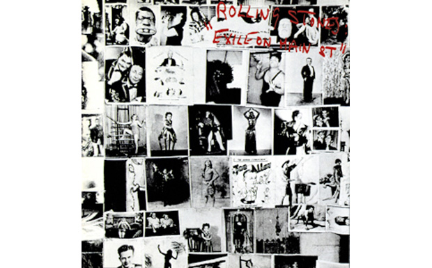 Rolling STones 'Exile on Main St.'high res cover art