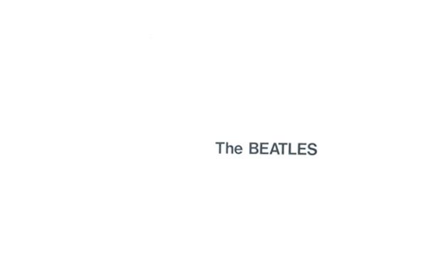 The Beatles 'White Album' high res cover art