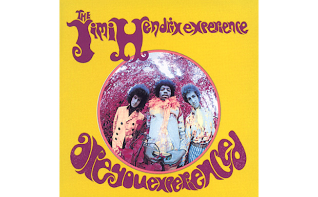 THe Jimi Hendrix Experience 'Are You Experienced' high res cover art
