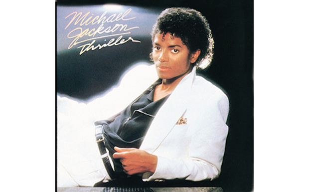 Michael Jackson 'Thriller' high res cover art