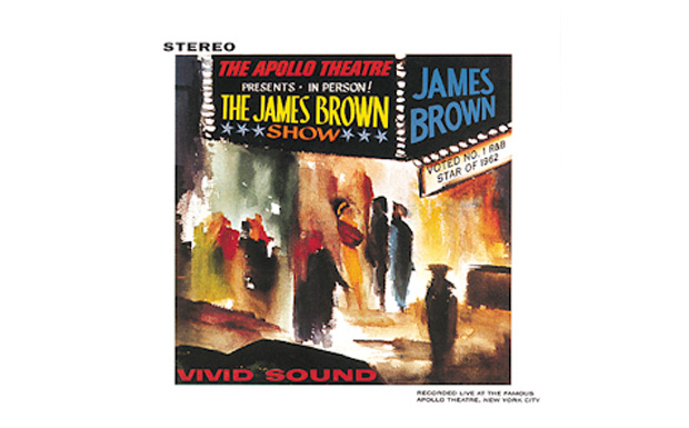 james Brown 'Live at the Apollo' high res cover art