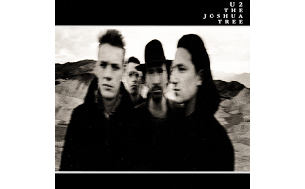 U2 'THe Joshua Tree' high res cover art