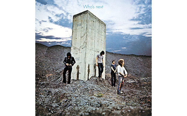 The Who 'Who's Next' high res cover art