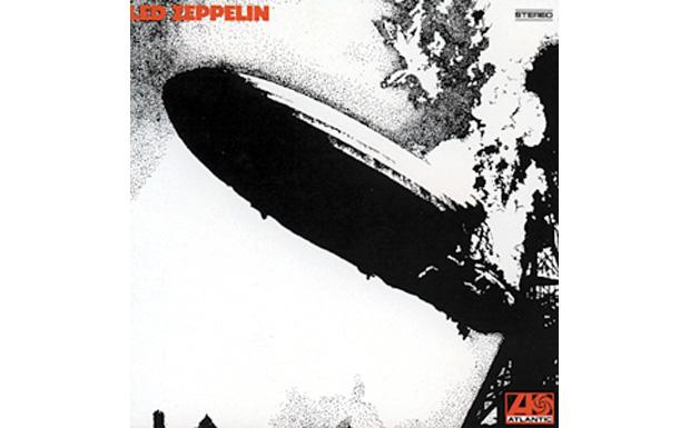 Led Zeppelin I high res cover art