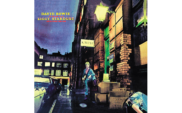 David BowieThe Rise and Fall of Ziggy Stardust and the Spiders From MarsHIGH RESOLUTION COVER ART