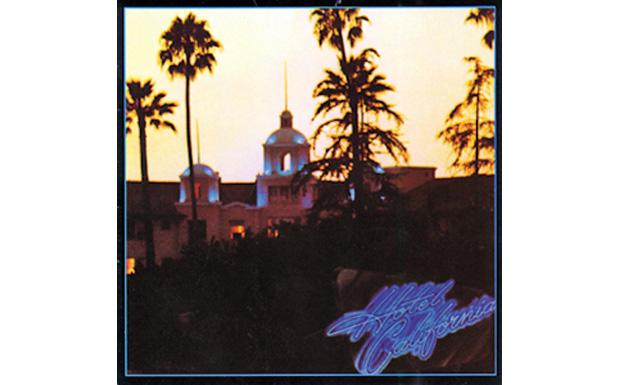 The EaglesHotel CaliforniaHIGH RESOLUTION COVER ART