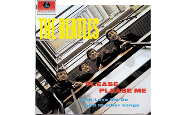 The BeatlesPlease PLease MeHIGH RESOLUTION COVER ART