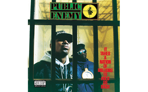 Public Enemy IT Takes a nation of millions to hold us backHIGH RESOLUTION COVER ART