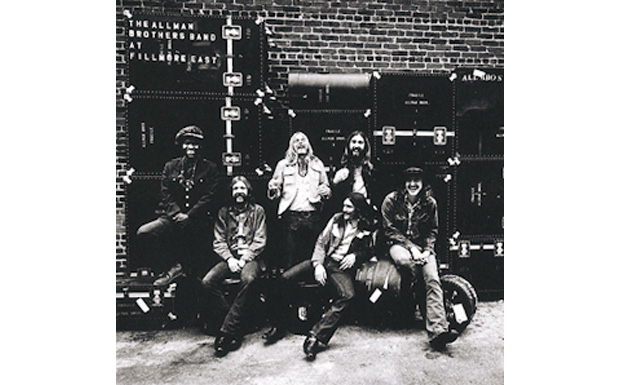 The Allman Brothers bandAt Fillmore EastHIGH RESOLUTION COVER ART