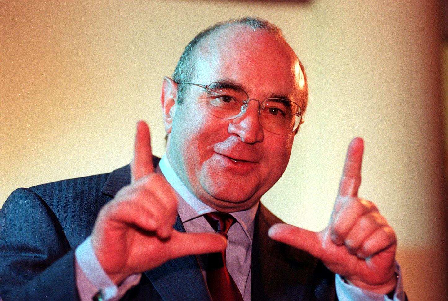 Bob Hoskins death. File photo dated 27/3/1996 of actor Bob Hoskins, who has died following pneumonia at the age of 71, his ag