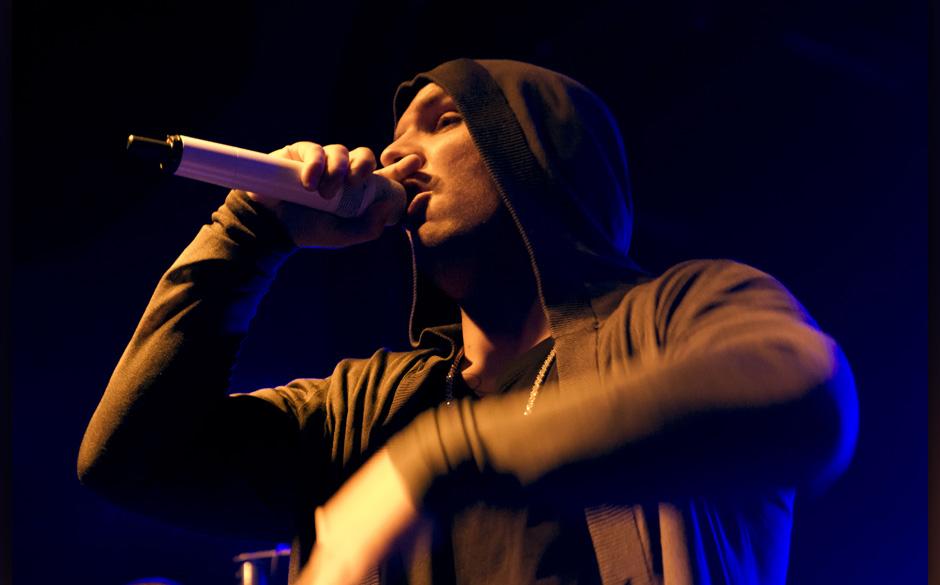 88/ Konzert: FLER, der Rapper Patrick Losensky, im Berliner C-Club, 02.11.2012