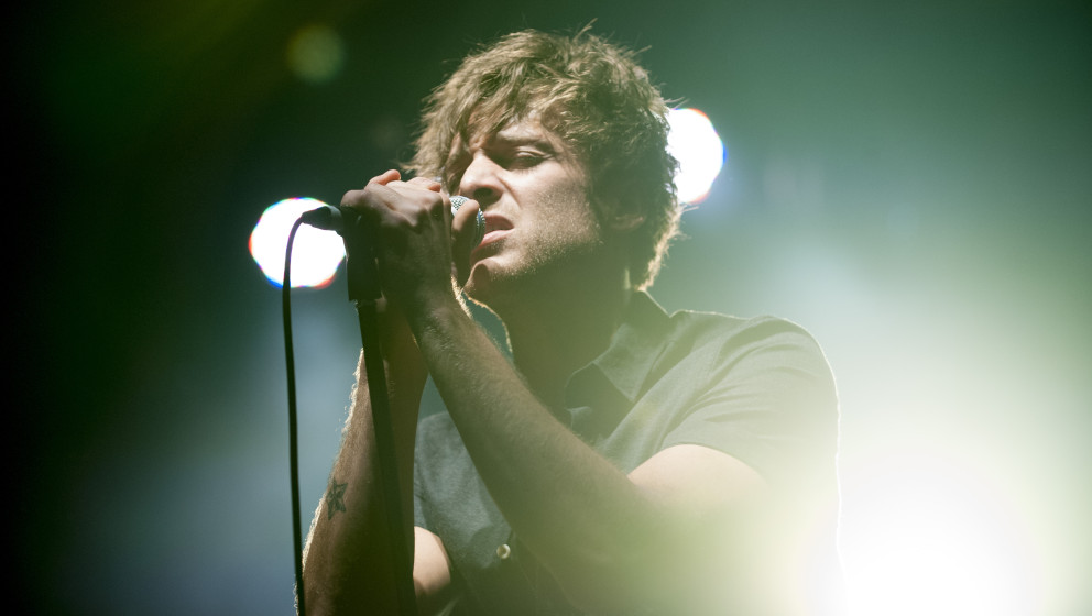BOURNEMOUTH, UNITED KINGDOM - MARCH 25: Paolo Nutini performs on stage at O2 Academy on March 25, 2014 in Bournemouth, United