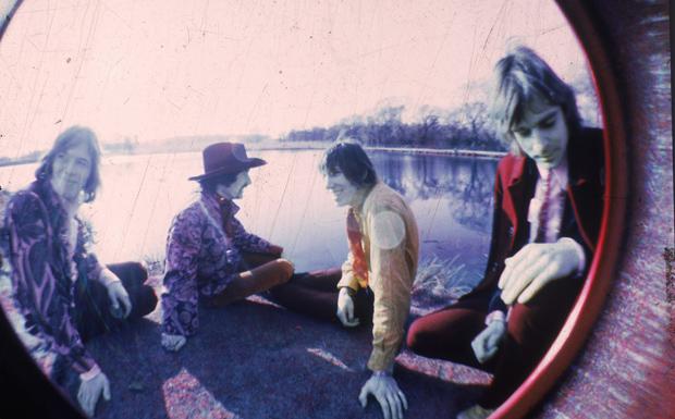 Pink Floyd beschritten im Studio ganz neue Wege.