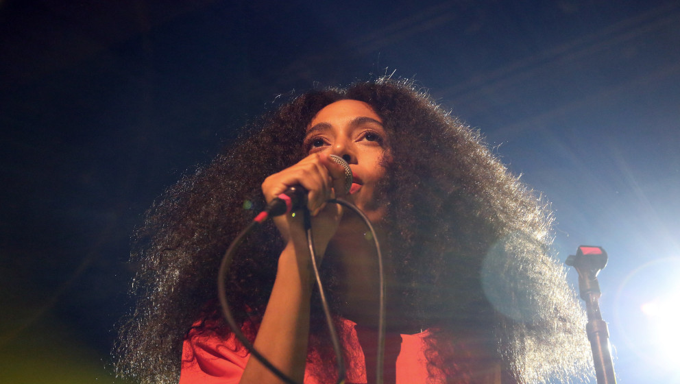 NEW YORK, NY - MAY 10:  Solange Knowles performs during the 2014 Vulture Festival at Webster Hall on May 10, 2014 in New York