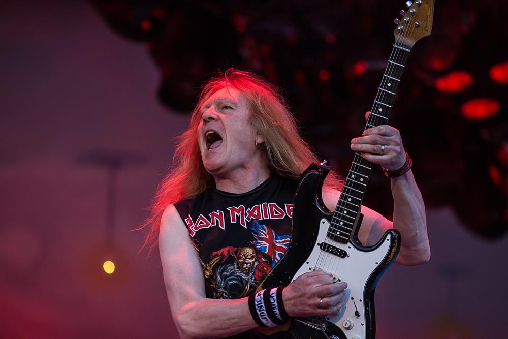 Iron Maiden in Aktion