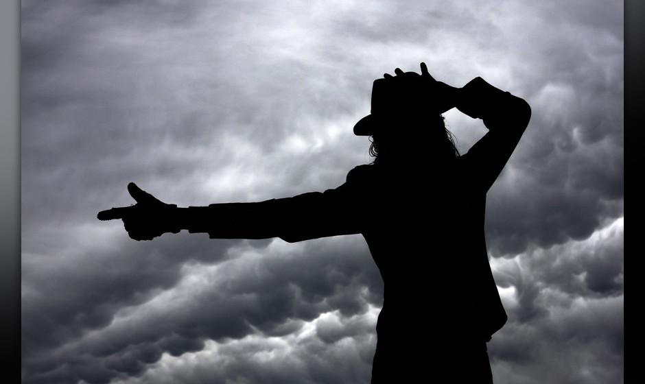 SYDNEY, AUSTRALIA - JUNE 26: Michael Jackson impersonator Jason Jackson poses in memory of 'The King of Pop' during a memoria