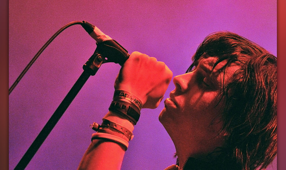 Julian Casablancas performs live during the first edition of the Days Off Festival at Cite de la Musique on July 6, 2010 in P